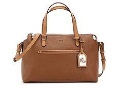 Lauren Ralph Lauren Lindley Addie Leather Satchel