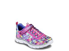 Skechers Color Daze Girls Toddler & Youth Running Shoe