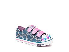 Skechers Twinkle Toes Sparkle Glitz Girls Toddler & Youth Light-Up Sneaker