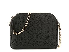 Madison West Laser Cut Crossbody Bag