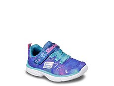 Skechers Spirit Sprintz Girls Toddler Slip-On Running Shoe