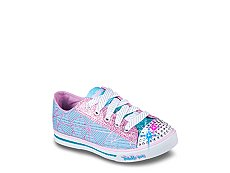 Skechers Twinkle Toes Shuffles Girls Toddler & Youth Light-Up Sneaker