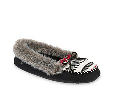 Dearfoams Printed Moccasin Slipper