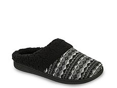 Dearfoams Reverse Fairisle Clog Slipper