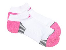 adidas Superlite Compression Womens No Show Socks - 2 Pack