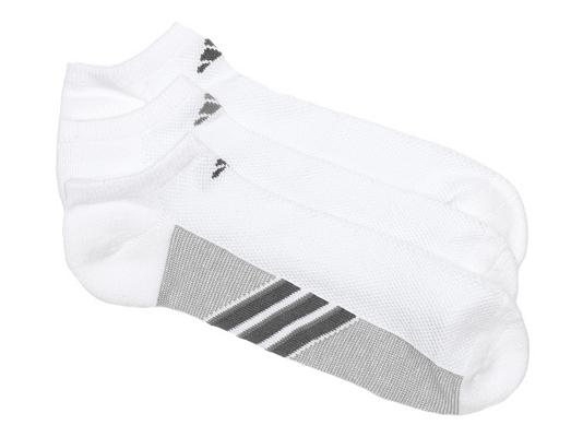 adidas superlite Lightweight Mens No Show Socks - 3 Pack
