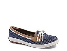 Keds Glimmer Boat Stripe Slip-On Sneaker - Womens
