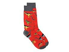 Sock It To Me Dawn Of The Dino Mens Dress Socks
