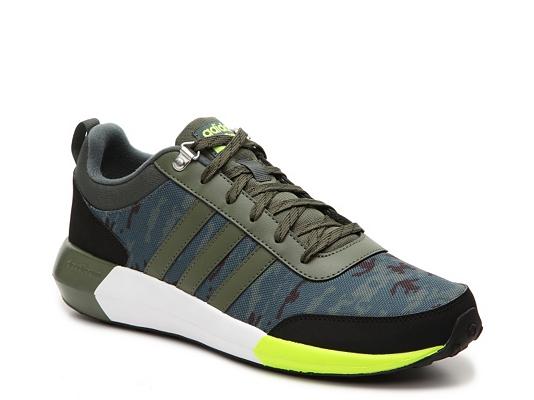 adidas NEO Cloudfoam Race Camo Sneaker - Mens