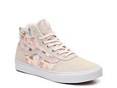 Vans Milton Hi Suede Printed High-Top Sneaker - Womens