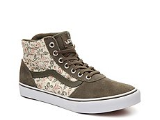 Vans Milton Hi Floral High-Top Sneaker - Womens
