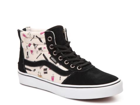 Vans Milton Hi Makeup High Top Sneaker Womens Dsw