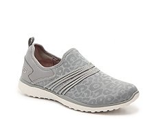 Skechers Microburst Under Wraps Slip-On Sneaker - Womens