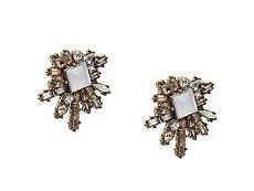 Jem & Jules Jagged Edge Stud Earrings
