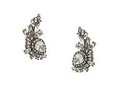 Crystal Fireball Drop Earrings
