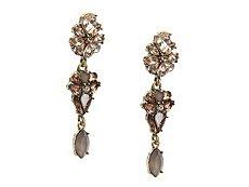 Jem & Jules Linear Flower Drop Earrings
