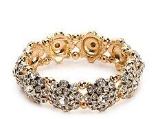 Jem & Jules Crystal Dandelion Stretch Bracelet