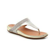 FitFlop Banda Micro-Crystal Wedge Sandal