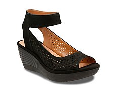 Clarks Reedly Salene Wedge Sandal