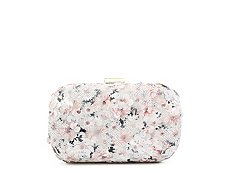 Lulu Townsend Lace Sequin Clutch