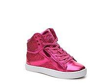 Pastry Pop Tart Glitter Girls Toddler & Youth High-Top Sneaker