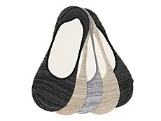 Steve Madden Marled Womens No Show Liners - 5 Pack