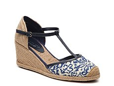 Lauren Ralph Lauren Carolina Printed Wedge Sandal
