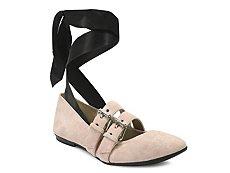 Gunmetal Sadie Ballet Flat