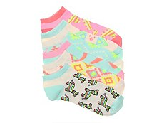 Mix No. 6 Pinata Womens No Show Socks - 6 Pack