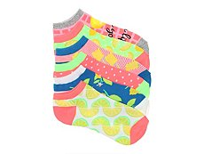 Mix No. 6 Lemons & Limes Womens No Show Socks - 6 Pack