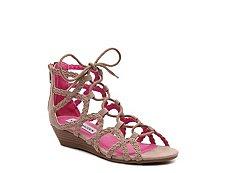 Steve Madden Chelsey Girls Youth Wedge Sandal