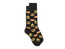 Hot Sox Street Food Mens Dress Socks