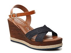 Italian Shoemakers Strappy Wedge Sandal