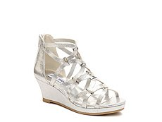 Steve Madden Castell Girls Youth Wedge Sandal
