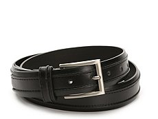 Florsheim Leather Ribbed Belt