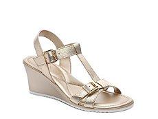 Italian Shoemakers Henna Wedge Sandal