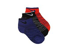 Nike Graphic No Show Socks - 3 Pack