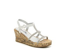 Olive & Edie Mirabelle Girls Youth Wedge Sandal
