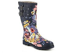 Chooka Floral Boom Rain Boot