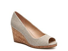 Kelly & Katie Kaydena Wedge Pump