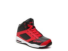 And 1 Typhoon Boys Youth High-Top Basketball Shoe
