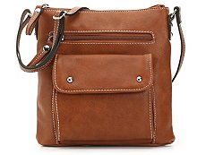 Kate + Alex Cuffaro Front Pocket Crossbody Bag