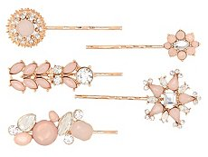 Allure Blushing Bobby Pins - 5 Pack