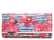 Kelly & Katie Poppy Floral Filemaster Wallet