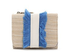 Kelly & Katie Straw Fringe Anna Indexer Wallet