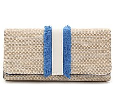 Kelly & Katie Straw Fringe Filemaster Wallet