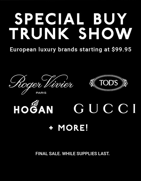 LUXURY SHOE SALE