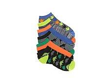 Max + Jake Dinosaurs Boys No Show Socks - 6 Pack