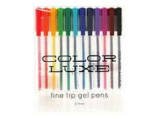International Arrivals Color Luxe Fine Tip Gel Pens