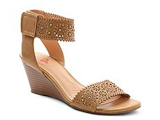 XOXO Sallie Wedge Sandal